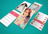 App Screen Showcase Mockup Vol.3