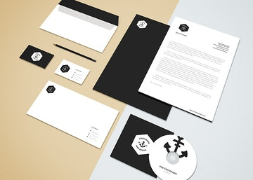 Branding-Stationery Mockup Vol.5