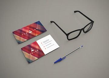 Business Cards Mockup Vol.18