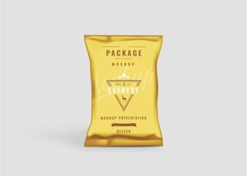 Chips Bag PSD Mockup