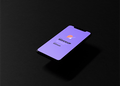 Dark iPhone PSD Mockup