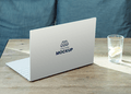 Laptop Back Cover Mockup