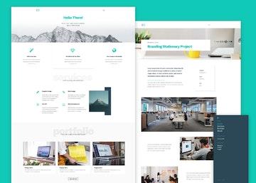 Leon - PSD Agency Template