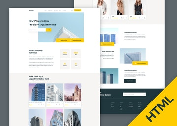 Luxestate - HTML Real Estate Landing Page
