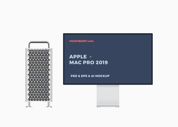 Mac Pro 2019 Mockup