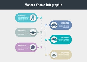 Modern Vector Infographic Elements
