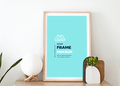 Picture Frame on Stand Mockup