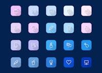 Viro - Modern Icon Set